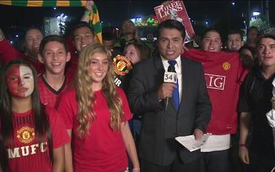 Manchester United goleó al LA Galaxy
