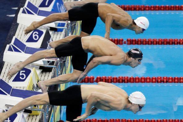 Michael Phelps no ha tenido el gran deseméño que tuvo en los Juegos Olím...