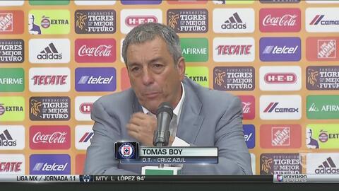 """Tomás Boy: """"Estoy muy contento con el juego y resultado"""""""