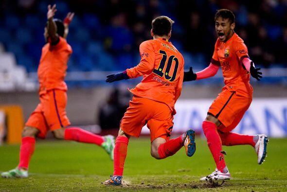 Con este resultado el Barcelona se mantiene como segundo lugar general a...