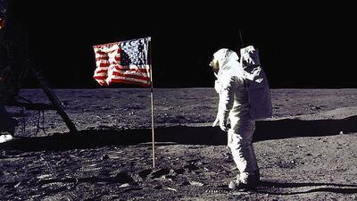 Reviven el momento en que el hombre llegó a la Luna