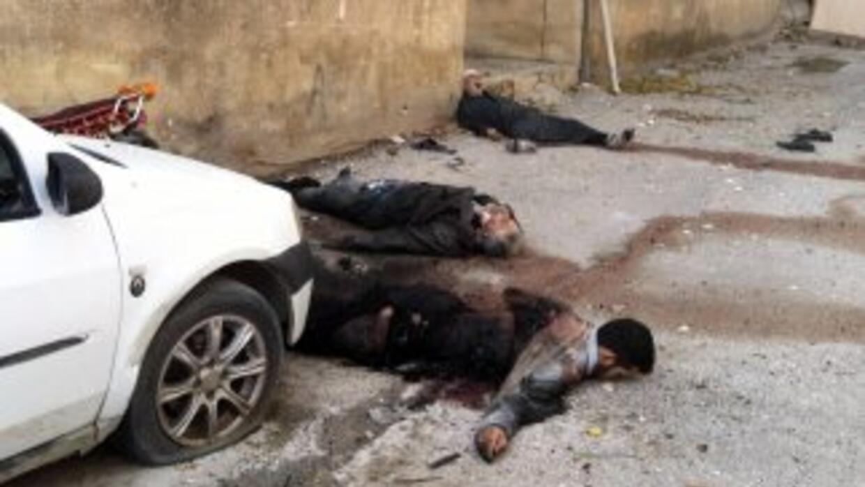 Según la ONU, el conflicto en Siria se ha cobrado las vidas de más de 10...