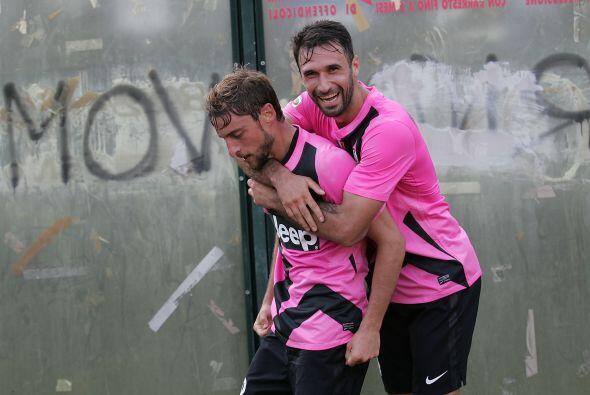 Marchisio hizo el gol con el que ls 'Juve' sacó un apretado triun...