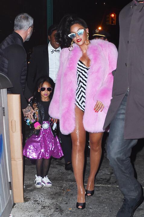 Beyoncé y su hija Blue Ivy