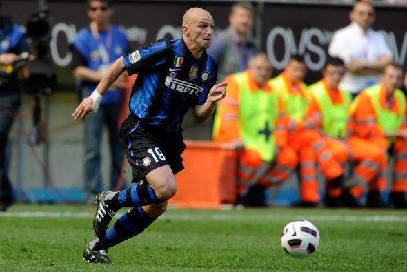 Aunque el título de Italia ya tiene dueño, el Milan, Cambiasso contribuy...