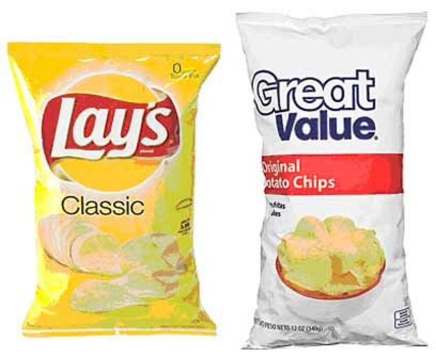 11. Lay's contra Great ValueVeredicto: Empate.Estas papitas chips tienen...