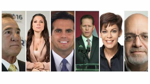 Estos son los seis aspirantes a La Fortaleza