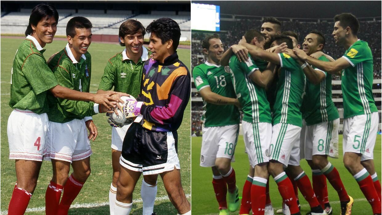 Selecciones México 1994   2016