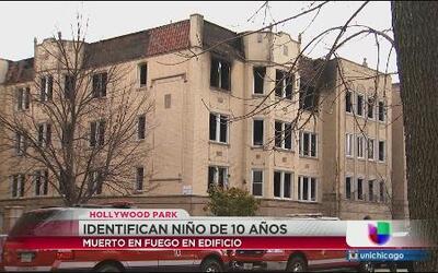 Niño de 10 años no sobrevivió fuego