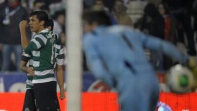El colombiano Fredy Montero no deja de anotar con Sporting.