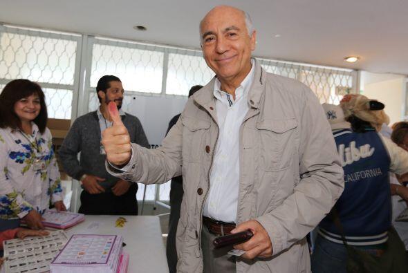 El candidato a la gubernatura de Michoacán por Movimiento Ciudadano dura...
