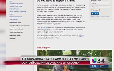 State Farm busca empleados en Atlanta
