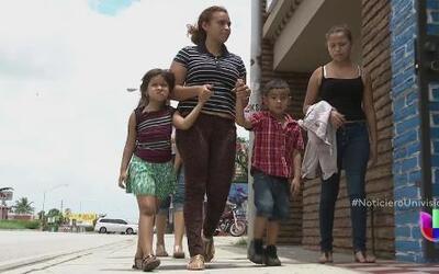 Una migrante hondureña se reencontró con su familia luego de 9 años