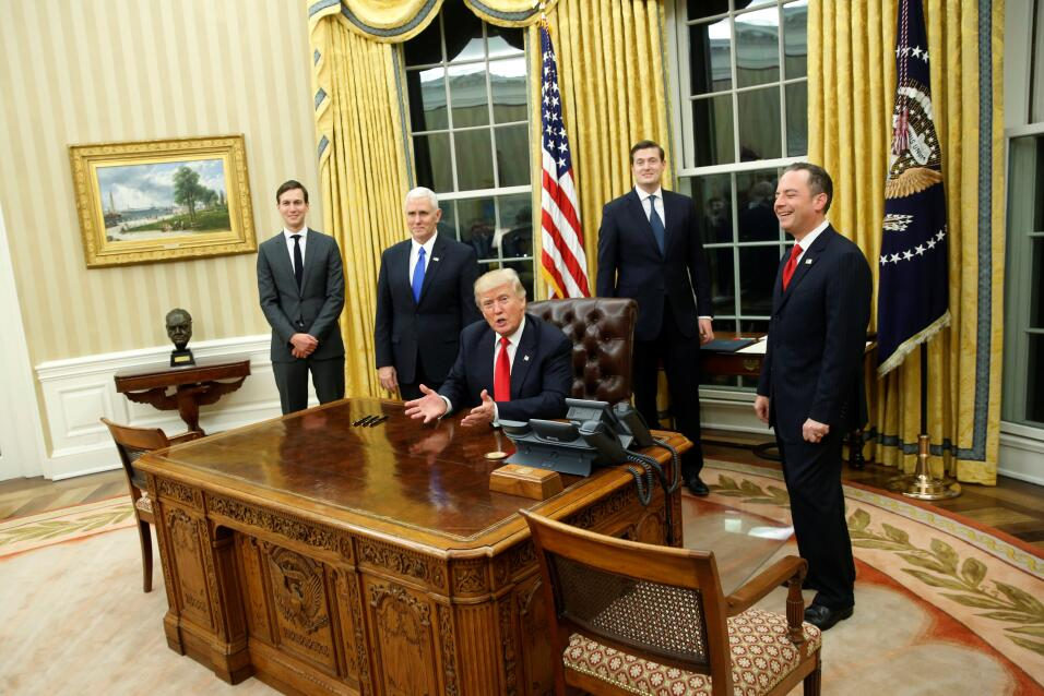Oval Office Trump