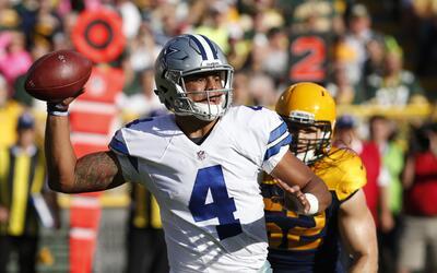 Los Packers cayeron rendidos a los pies de los Cowboys