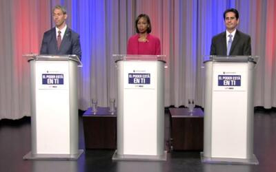 Camino a la alcaldía: Primer debate entre candidatos al cargo de alcalde...