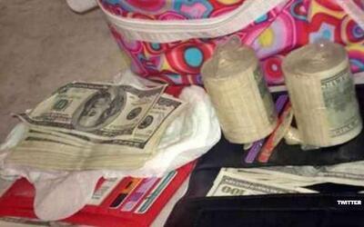 Pretendía introducir miles de dólares en la vagina, de México a Colombia