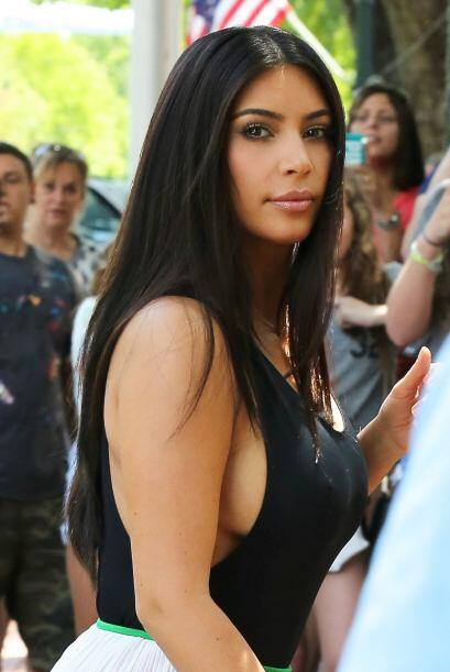 Kim Kardashian es otra de las celebridades que tiene con qué most...