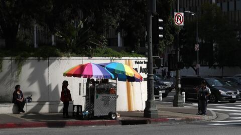 Vendedores ambulantes de Los Ángeles no serán considerados criminales po...