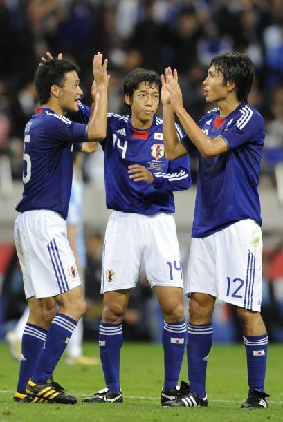 Los jugadores de Japón se llevaron un triunfo que nunca olvidar&a...
