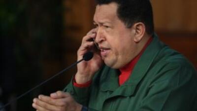 El presidente venezolano Hugo Chávez no renunciará a los 18 meses que el...