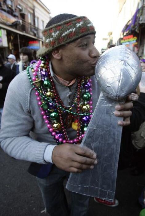 New Orleans buscó nuevamente ser sede del Super Bowl y lo consiguió por...