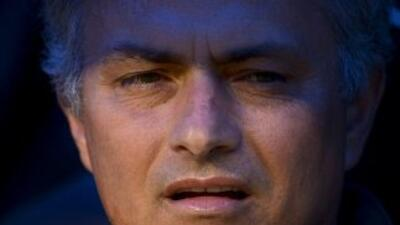 José Mourinho fue sonoramente criticado por el Bernabéu.