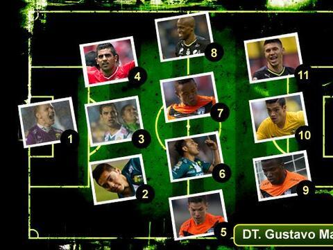 El once ideal de los cuartos de final, acaparado por Santos, Pachuca y L...