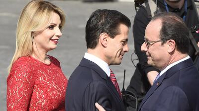 Peña Nieto guarda silencio en Francia sobre fuga de El Chapo