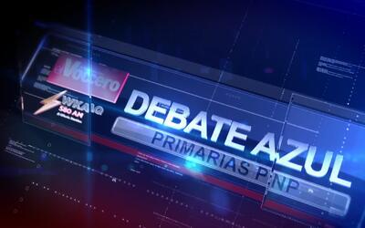 Debate Primaria Azul