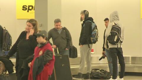 Refuerzo en las medidas de seguridad del aeropuerto O'Hare de Chicago po...
