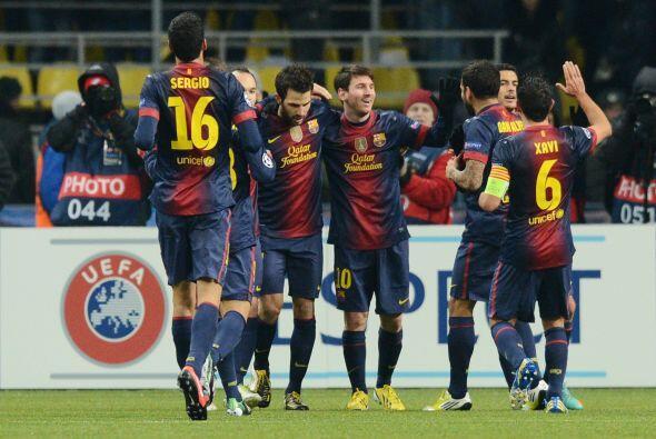 Al 39' se vio un gol más de Messi, que ya decretaba el 3-0.