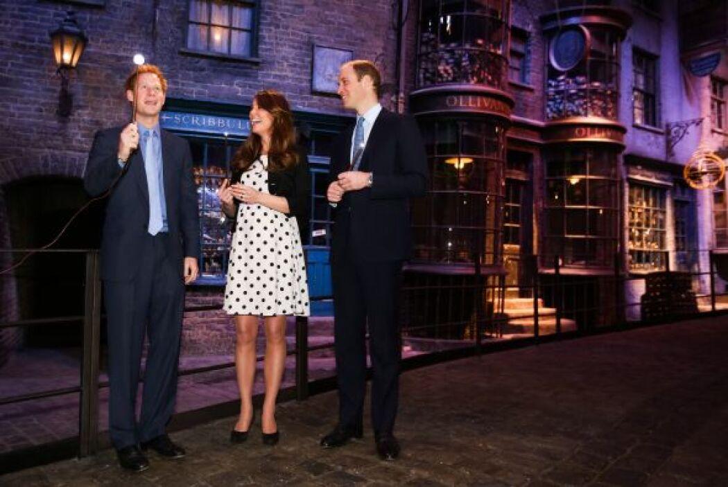Harry estaba a punto de demostrar su poder.