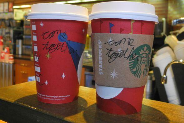 Según Howard Schultz, presidente de la cadena de cafeterías, mandó un me...