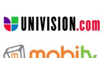 Univision.com anunció una asociación con MobiTv para llevar nuestros mej...