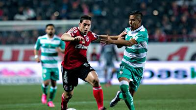 Santos consigue una valiosa victoria ante Tijuana.