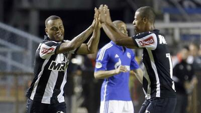 Atlético Mineiro goleó al Schalke 04