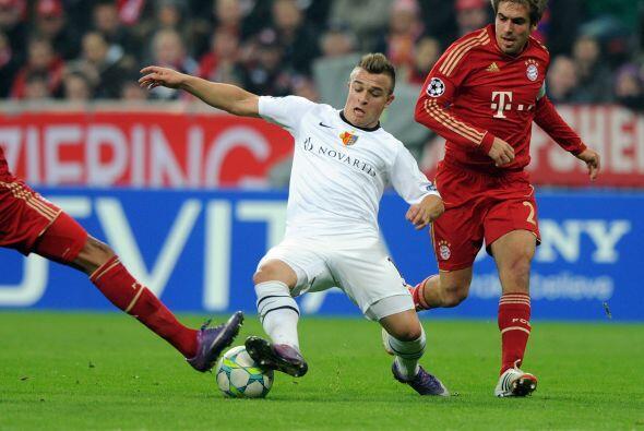 Sin cambios en los segundos 45 minutos entre Bayern Munich 3 - Basilea 0.
