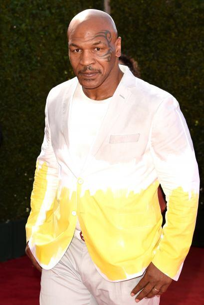 No sabemos aún si a Mike Tyson sus hijitos le pintaron con marcad...