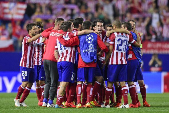 Atlético logró dejar fuera al Barcelona y es uno de los cu...