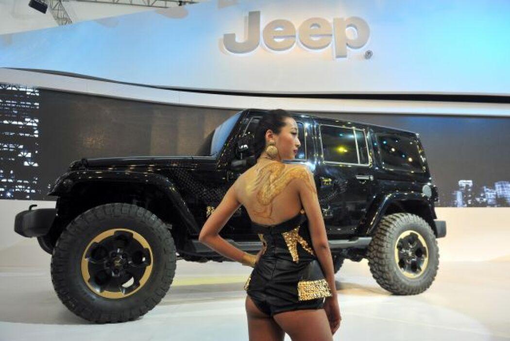 El mercado chino gusta de vehículos poderosos y de gran tamaño, por eso...