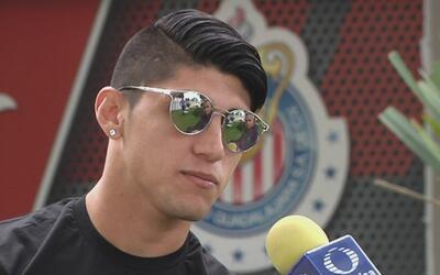 """Alan Pulido: """"Confío en el gran equipo que tenemos, ya se logró un triun..."""