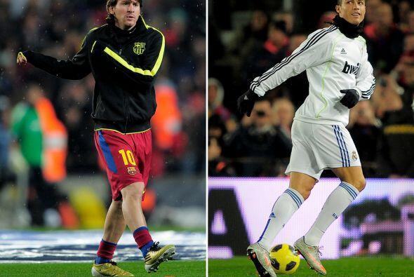 El argentino y el portugués sacian a base de goles cada jornada. Cada en...