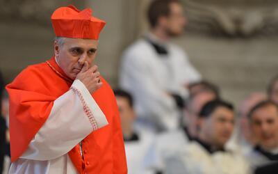 El cardenal de Houston Texas, Daniel DiNardo, presidente de la Conferenc...