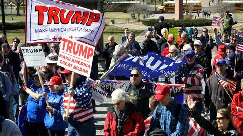 Seguidores de Trump programan manifestaciones para contrarrestar las pro...