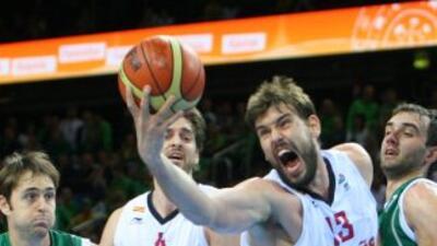 La selección española enseñó en veinte minutos su poderío y ya está es s...
