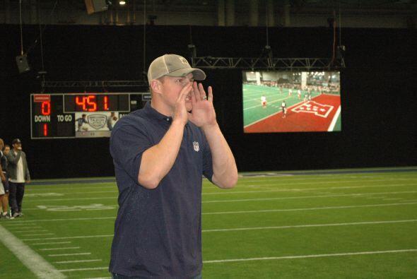 Jason Witten, ala cerrada de los Cowboys tomó su rol de entrenador muy e...