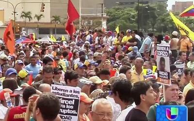 Violencia en Venezuela por represión contra manifestantes