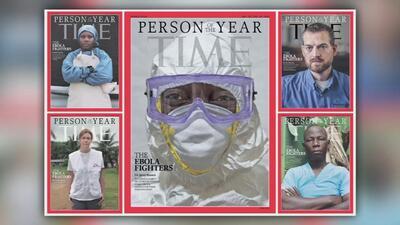 Los luchadores contra el ébola son reconocidos por la revista TIME