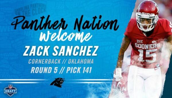 Zack Sánchez a las filas de Carolina.